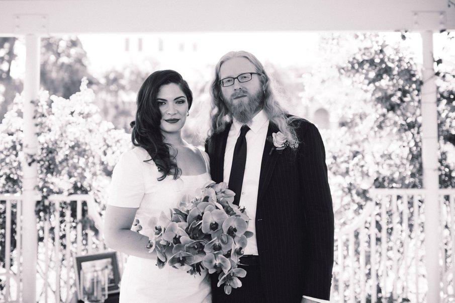 Adrie and Klaus_LA Wedding_Exposition Rose Garden