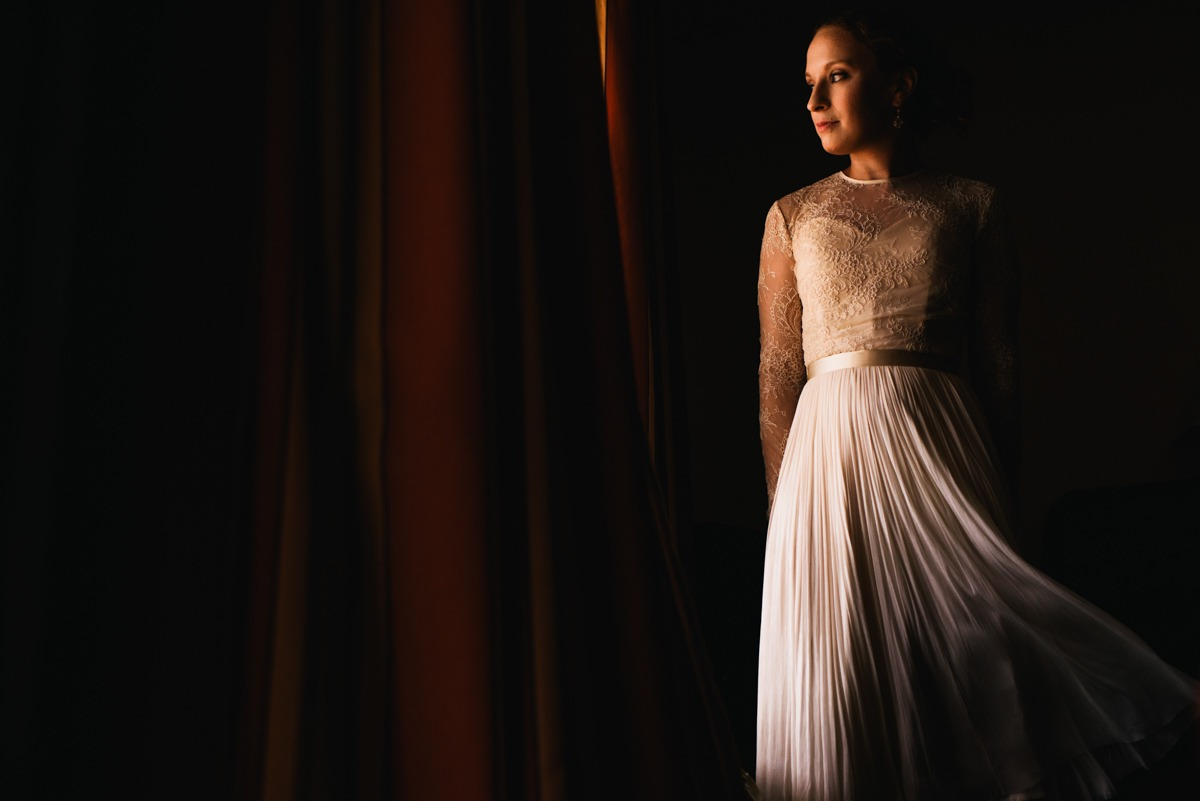 bride window light