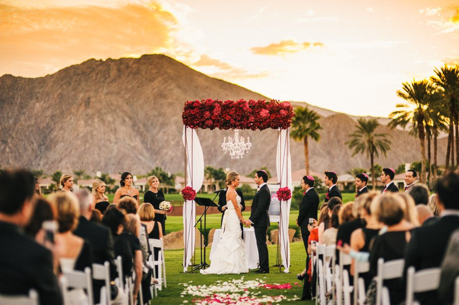 Kristen And Matt Wedding Mountain View Country Club La Quinta