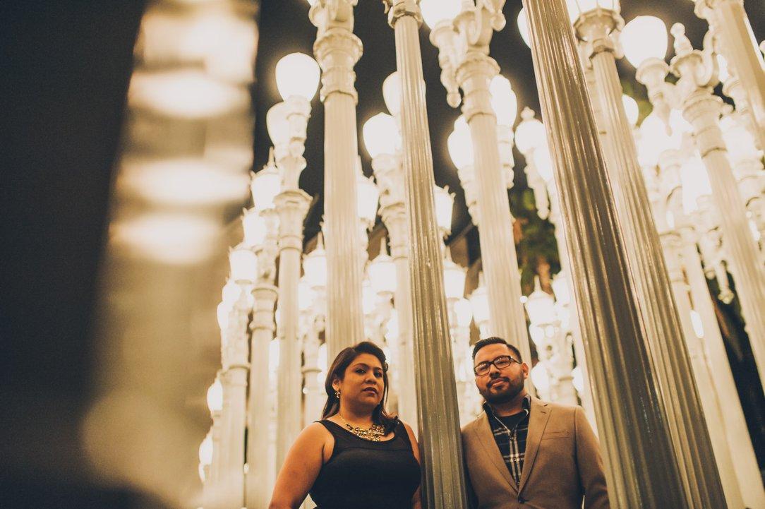 LACMA Engagement Photography
