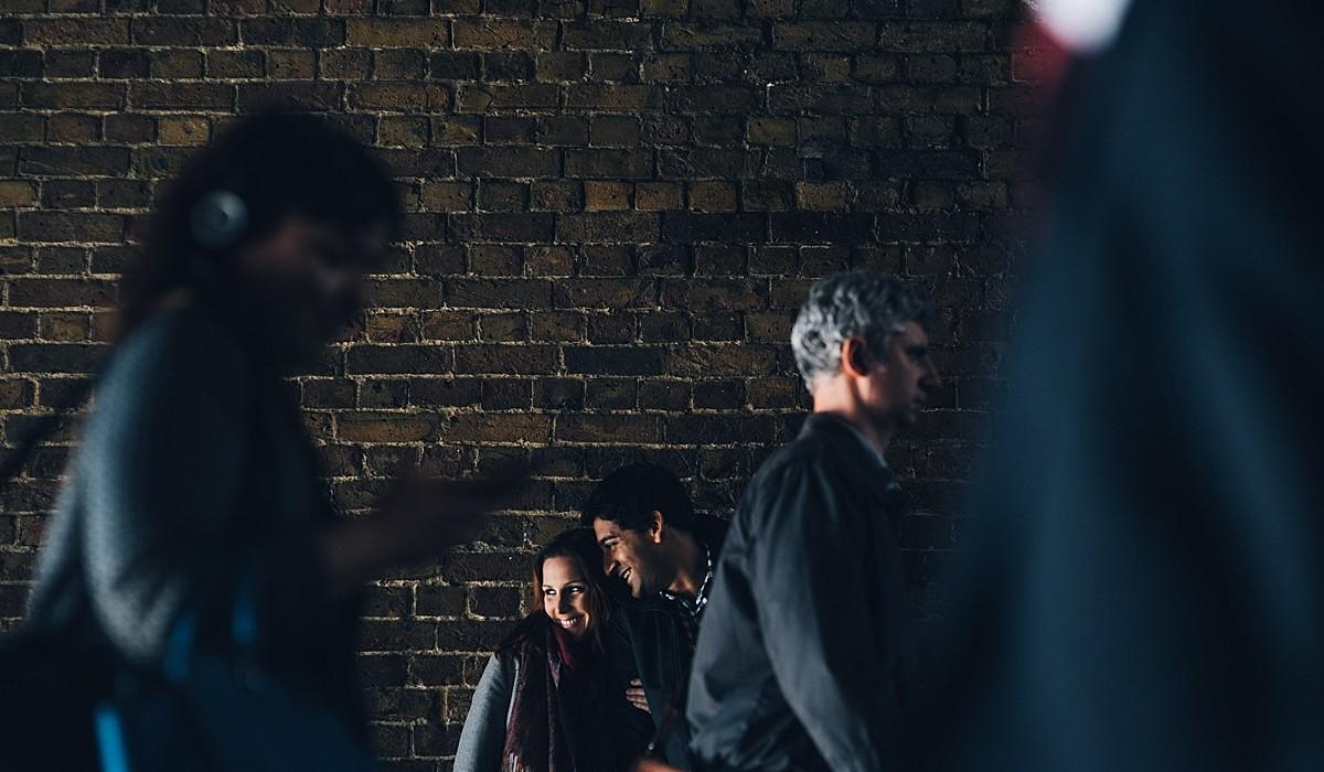 Emily + Jig | London Engagement | Southbank