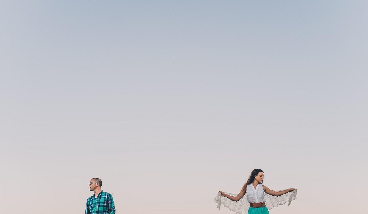 Erika + Walker | Paramount Ranch Engagement