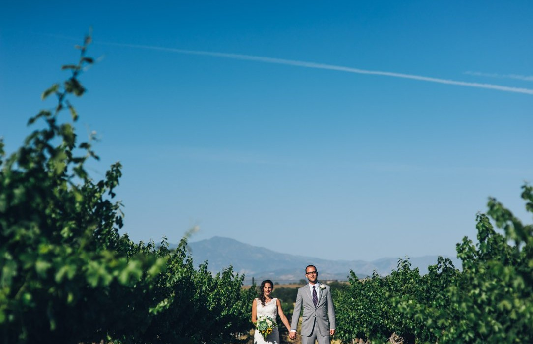 Erika + Walker | Vineyard Wedding | Santa Ynez Valley