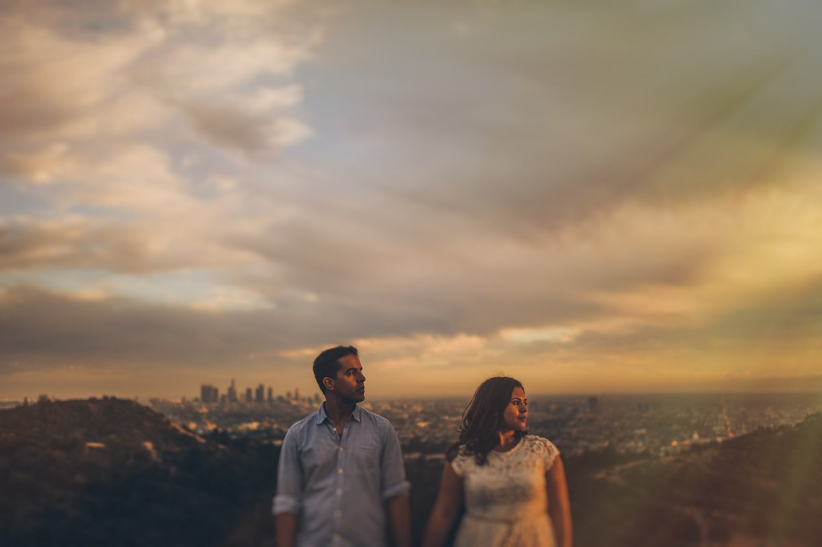 Griffith Park Engagement