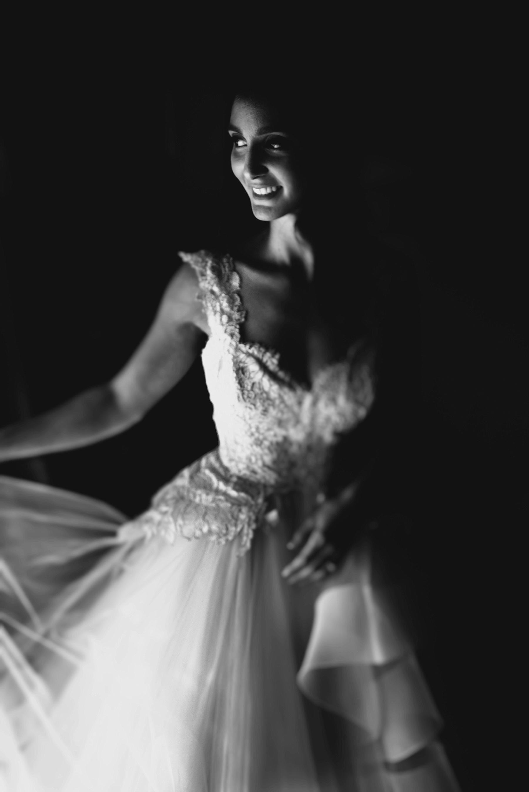 Ritz Carlton Bride Portrait Los Angeles