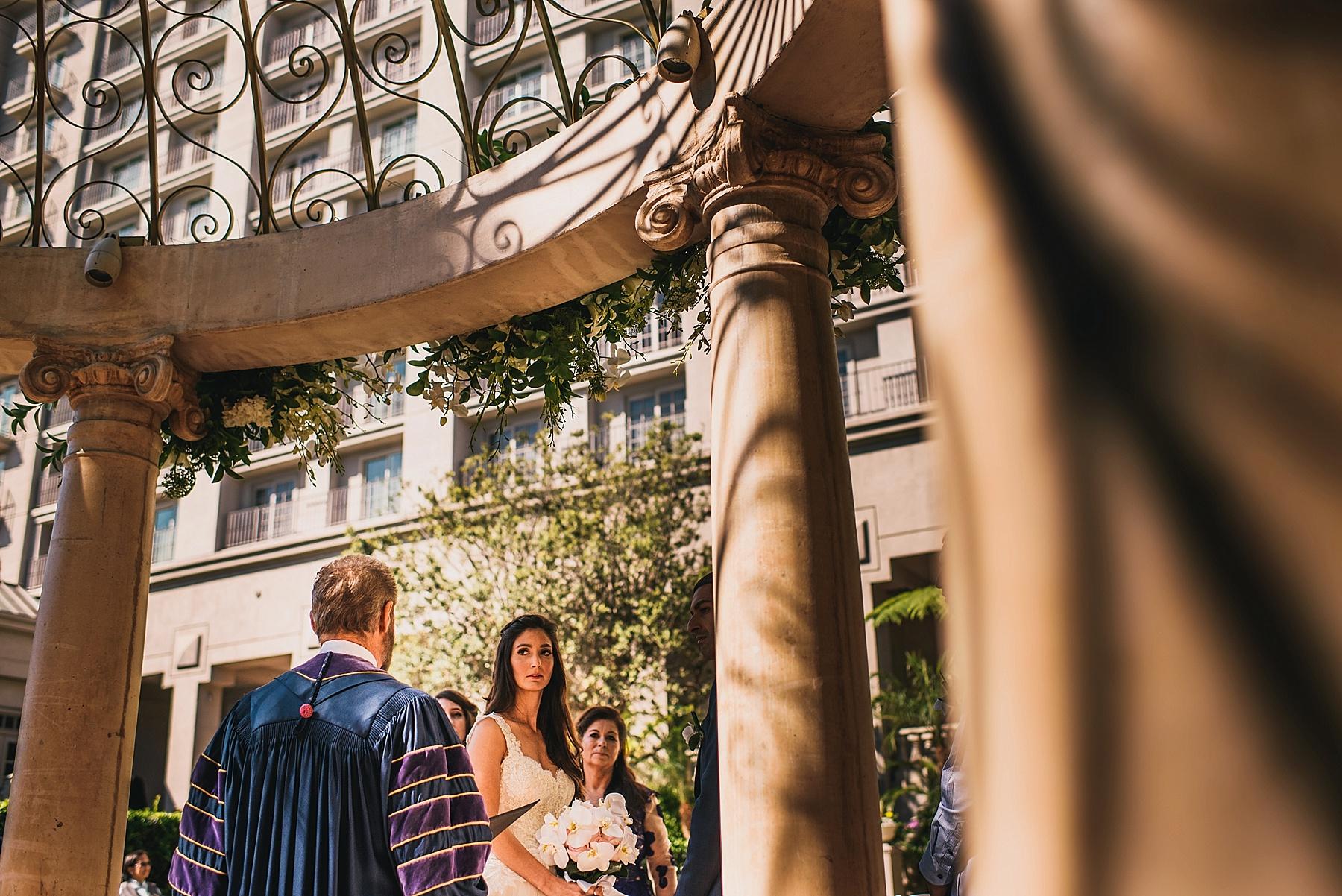 Ritz Carlton Wedding Los Angeles