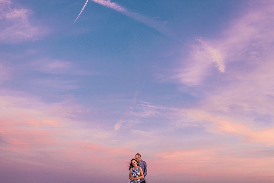 Santa Monica Beach Engagement Photos | Grace + Christian