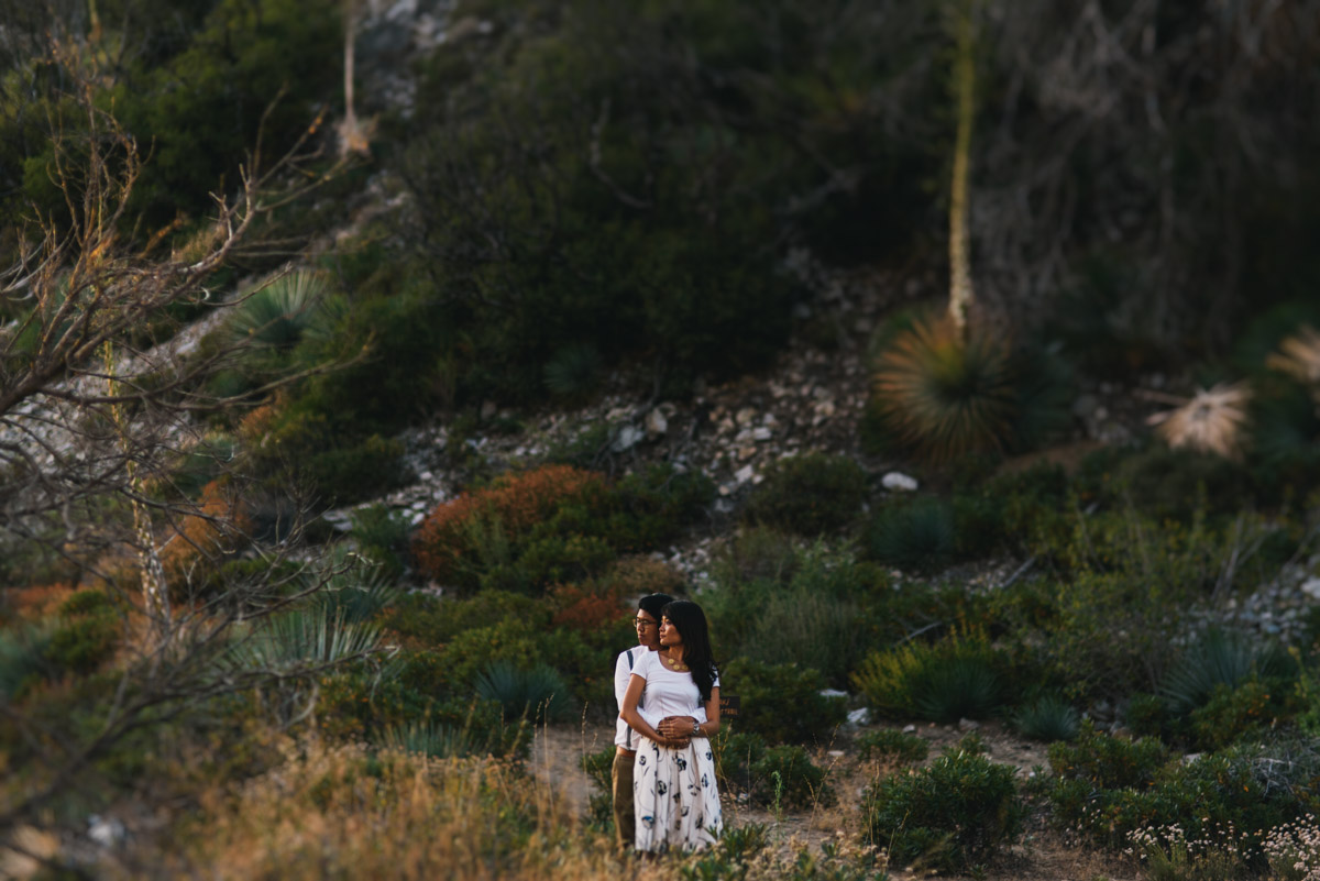 Los Angeles Mountain Engagement Photos_021