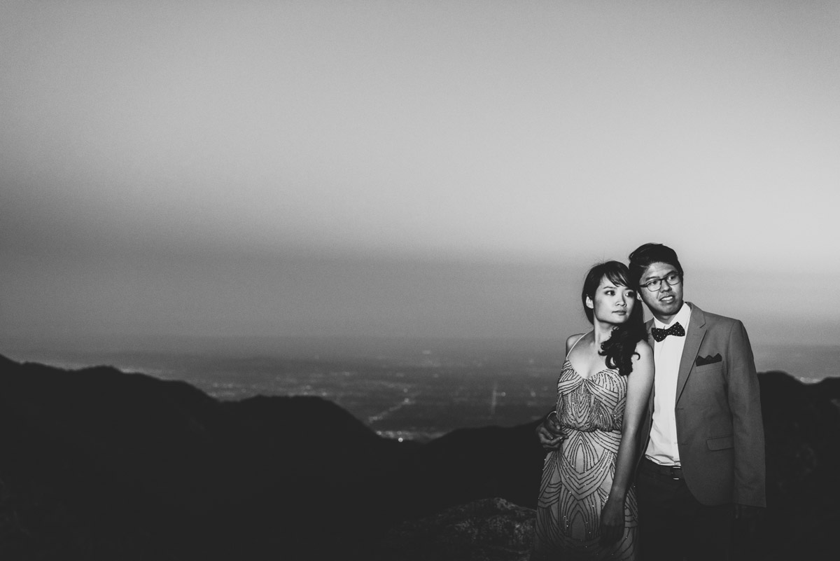 Los Angeles Mountain Engagement Photos_030