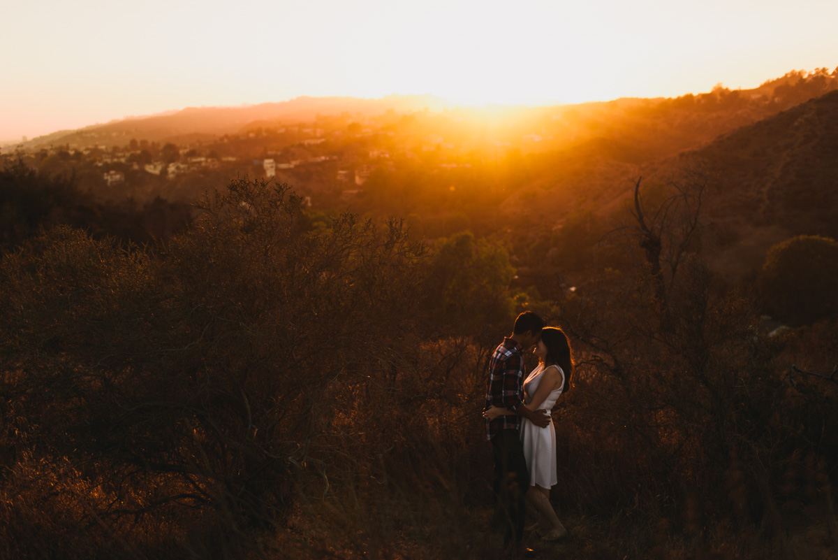 LA Engagement photography