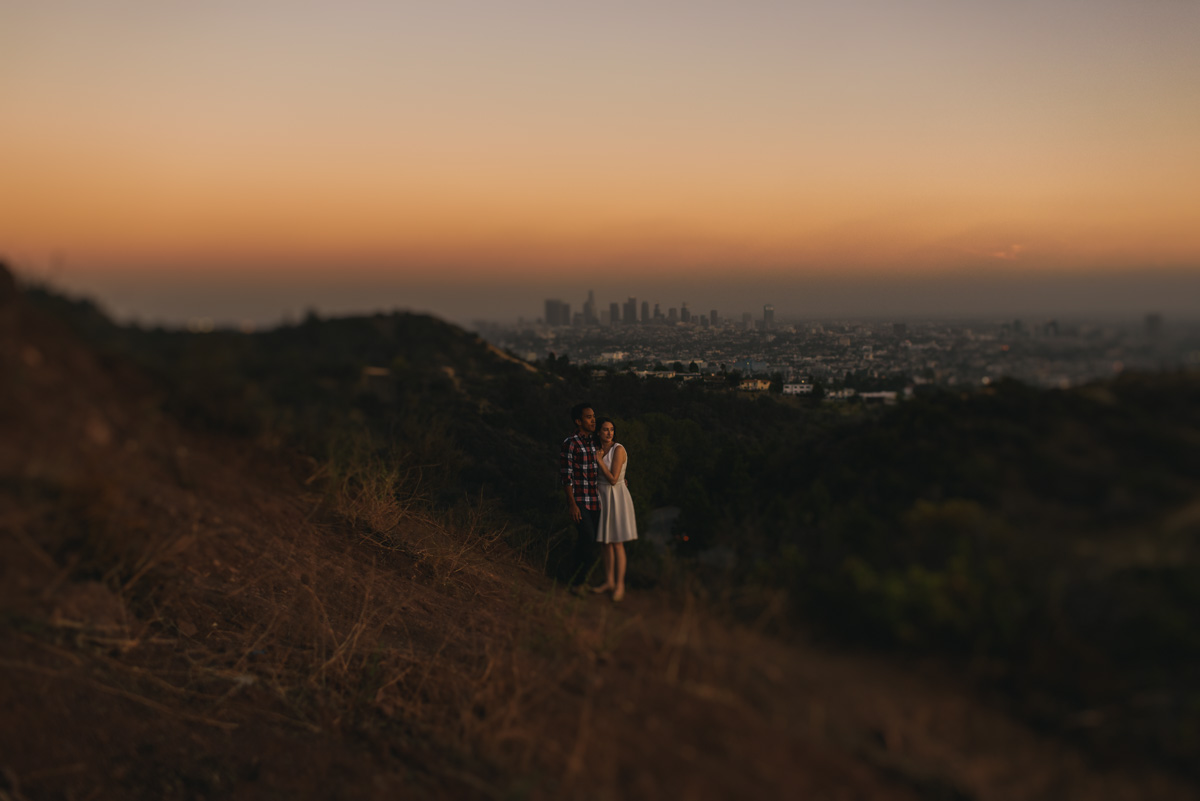 Hollywood Hills Engagement