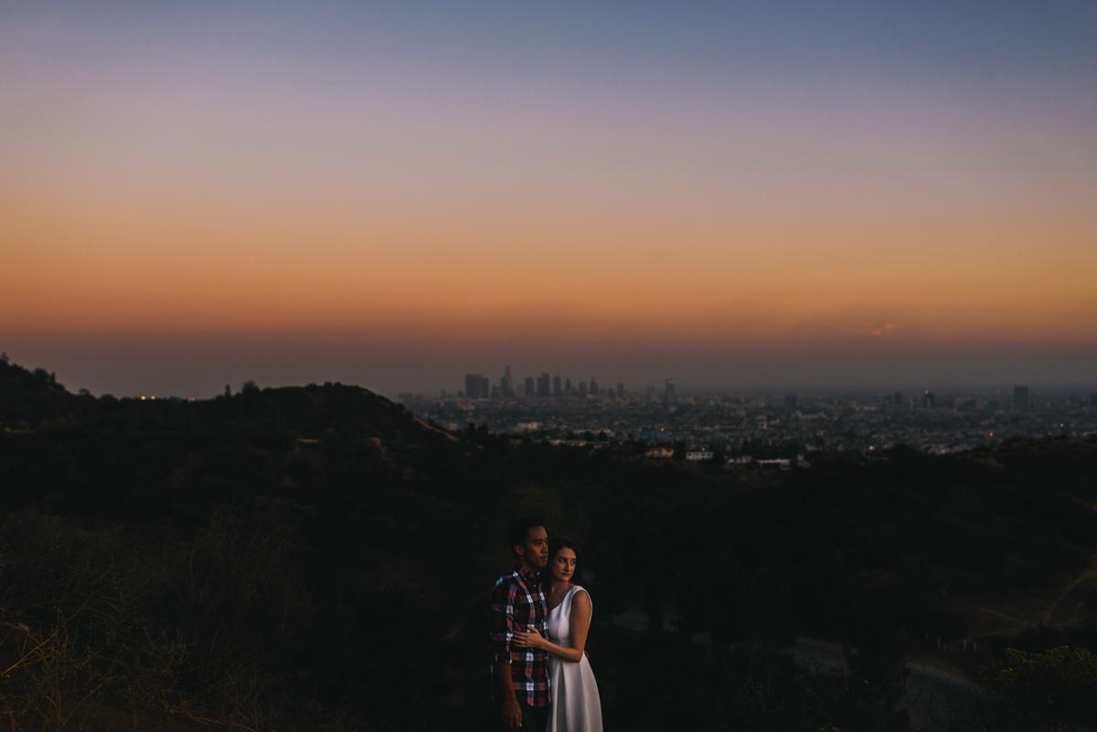 Hollywood Hills Engagement