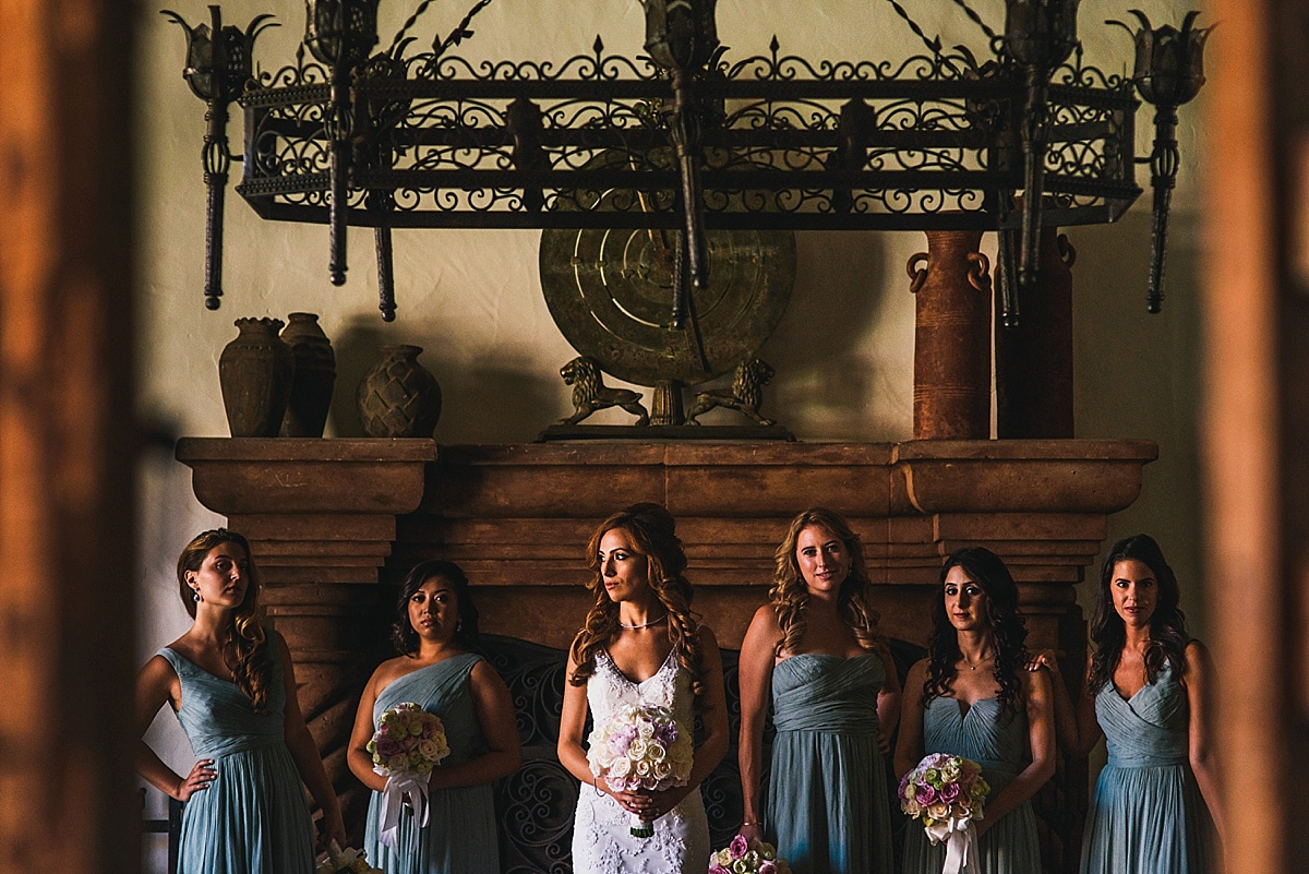Hummingbird Nest Ranch Wedding Bridesmaids Portraits