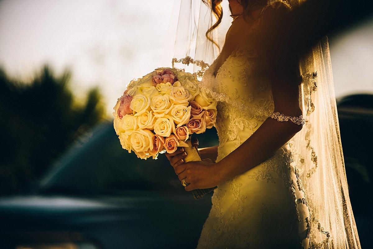 Hummingbird Nest Ranch Wedding Bride Enters
