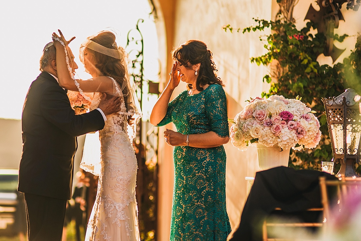 Hummingbird Nest Ranch Wedding Ceremony