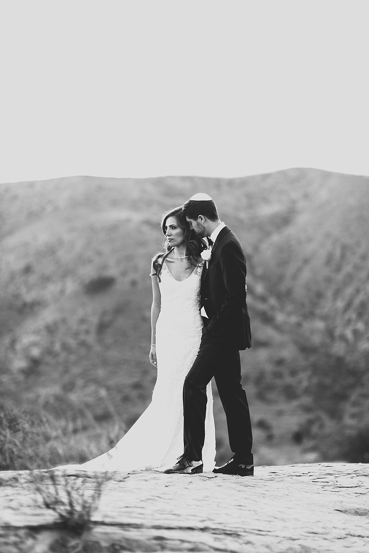 Hummingbird Nest Ranch Wedding portraits