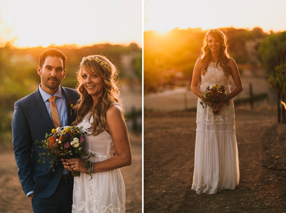 California-Boho-Wedding-Sunset-Portraits