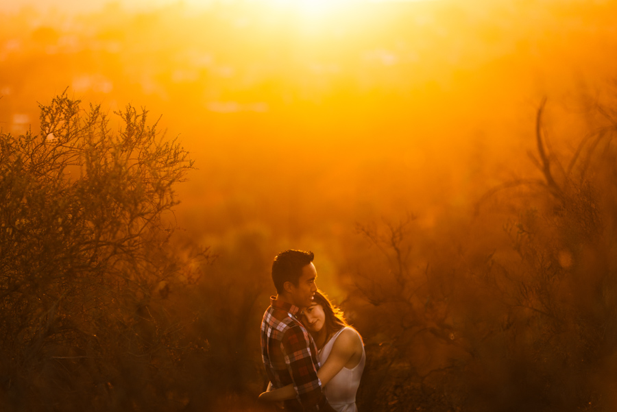 Hollywood Hills Engagement | Loren + Ben