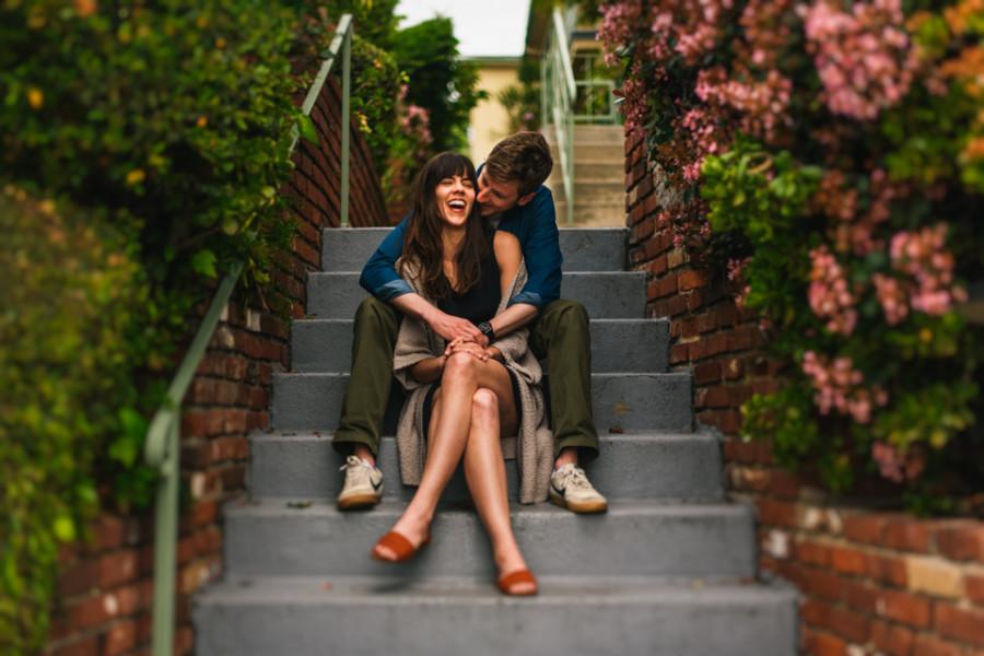 Hollywood Engagement Photos | Erin + Sandy