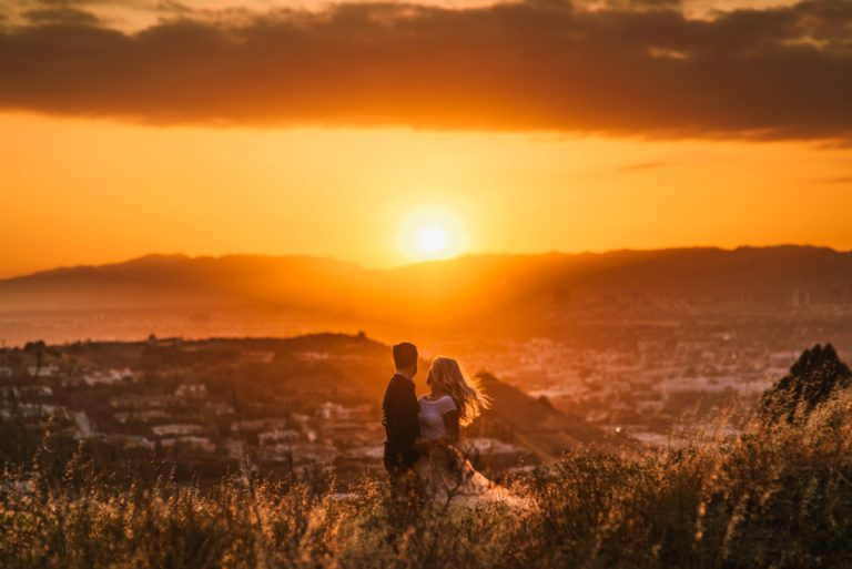 culver city engagement photography