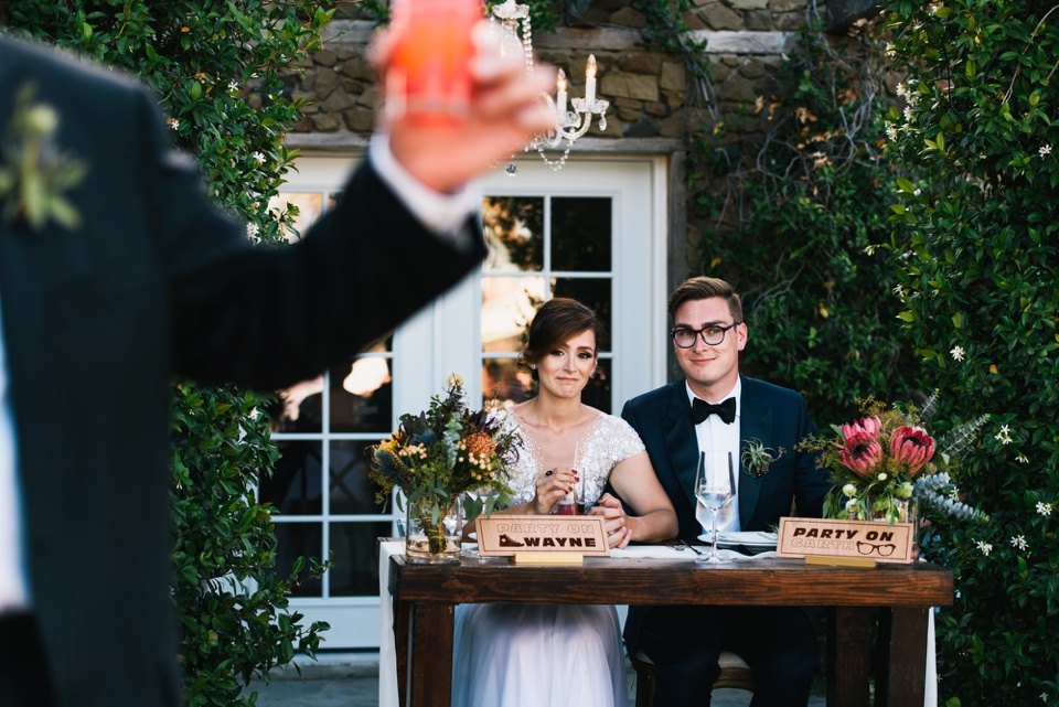 Saddlerock Ranch Wedding Toasts