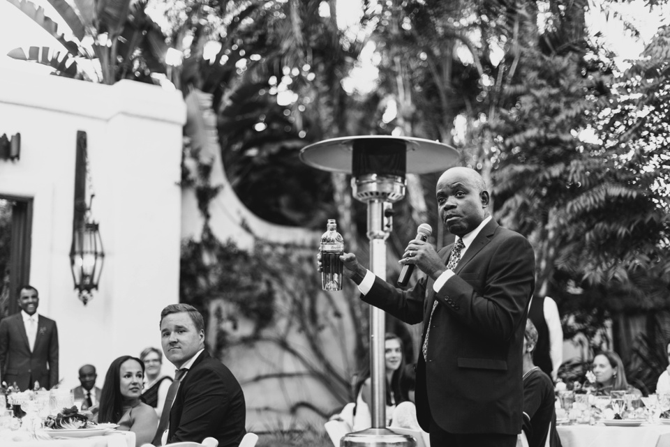 toasts with african tradition