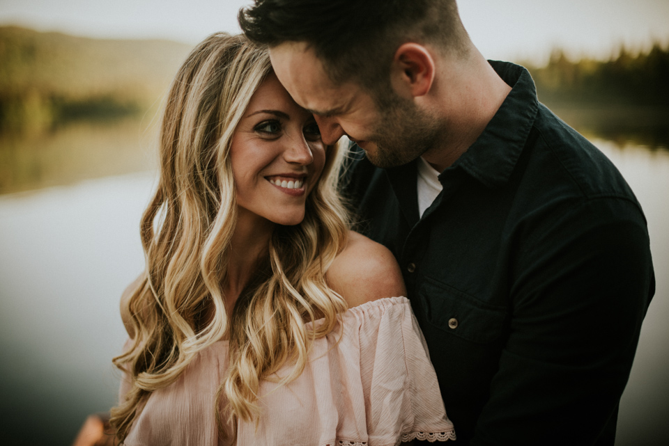 Alaska Engagement Photos | Chelsea + Adam