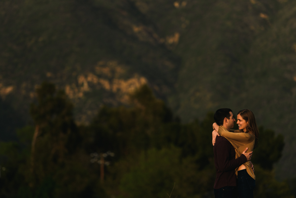 malibu hills couple shoot
