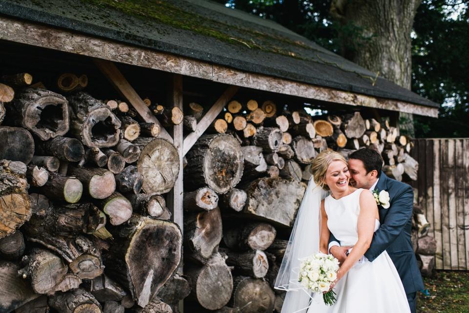 wedding portraits Northbrook Park wedding