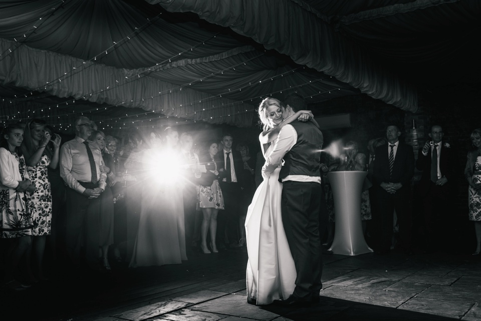 first dance Northbrook Park wedding
