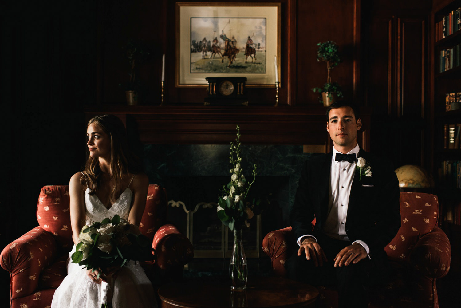 montecito polo club wedding portrait - montecito wedding photography